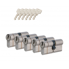 Iseo F6 extra cilinder met kerntrekbeveiliging (5x) SKG***