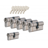 Iseo F6 extra cilinder met kerntrekbeveiliging (6x) SKG***