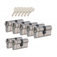 Iseo F6 extra cilinder met kerntrekbeveiliging (7x) SKG***