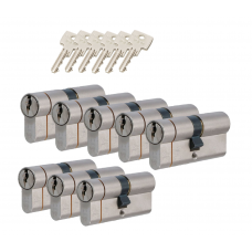 Iseo F6 extra cilinder met kerntrekbeveiliging (8x) SKG***