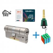 M&C Color+ cilinder met kerntrekbeveiliging (1x) SKG***