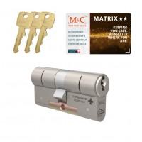 M&C Matrix cilinder met kerntrekbeveiliging (1x) SKG**