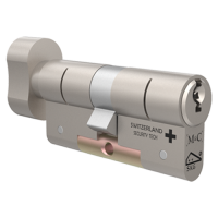 M&C Matrix knopcilinder met kerntrekbeveiliging SKG**