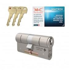 M&C Matrix cilinder met kerntrekbeveiliging (1x) SKG***