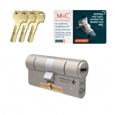 M&C Condor cilinder met kerntrekbeveiliging (1x) SKG***