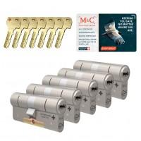 M&C Condor cilinder met kerntrekbeveiliging (5x) SKG***