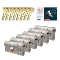 M&C Condor cilinder met kerntrekbeveiliging (6x) SKG***