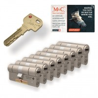 M&C Condor cilinder met kerntrekbeveiliging (8x) SKG***