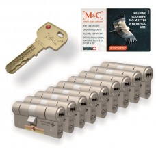 M&C Condor cilinder met kerntrekbeveiliging (9x) SKG***