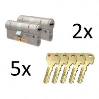 M&C Condor cilinder 2 stuks gelijksluitend SKG***