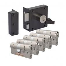 Oplegslot + M&C Matrix cilinder (5x) SKG***
