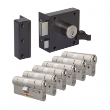Oplegslot + M&C Matrix cilinder (6x) SKG***