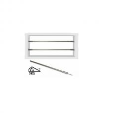 Astra barrierestang Klik-it RVS SKG*** 1meter