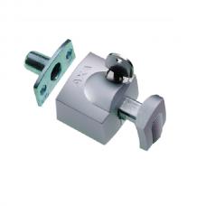 Axa oplegslot 3012 inbouwsluitkom zilver 3012-20-90/G SKG*