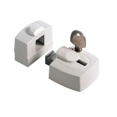 Axa oplegslot 3015 opbouwsluitkom wit 3015-00-98/G SKG*