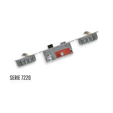 Buva 7220 driepuntssluiting SKG*** 209cm lang, PC72, Doorn 55 cilinder bediend