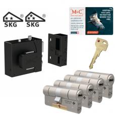 M&C oplegslot met knop + Condor (4x) SKG***