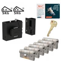 M&C oplegslot met knop + Condor (6x) SKG***