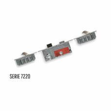 Buva 7220 driepuntssluiting SKG*** 209 cm lang PC72 krukbed.