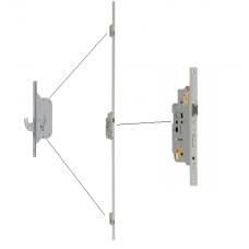 HMB driepuntssluiting 24X1700mm PC72 Doorn55 cilinder bediend