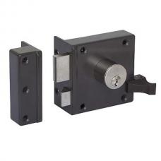 Lips 1754VS veiligheids voordeur oplegslot SKG** (verstelbaar).