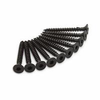 Schroeven zwart voor montage van Axa raamboompjes zwart