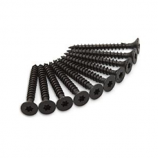 Schroeven zwart voor de montage van Axa raamboompjes type 3302 en 3308 zwart