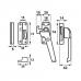 Axa raamboompje 3320 F1 SKG* opbouw