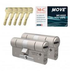 M&C Move cilinder met kerntrekbeveiliging (2x) SKG***