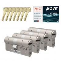 M&C Move cilinder met kerntrekbeveiliging (4x) SKG***