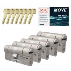 M&C Move cilinder met kerntrekbeveiliging (5x) SKG***
