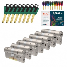 M&C Color+ cilinder met kerntrekbeveiliging (7x) SKG***