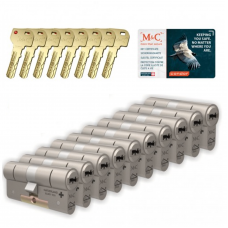 M&C Condor cilinder met kerntrekbeveiliging (10x) SKG***