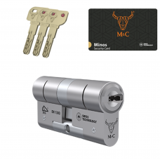 M&C Minos cilinder met kerntrekbeveiliging (1x) SKG***
