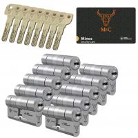 M&C Minos cilinder met kerntrekbeveiliging (10x) SKG***