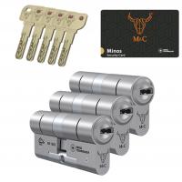 M&C Minos cilinder met kerntrekbeveiliging (3x) SKG***