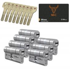 M&C Minos cilinder met kerntrekbeveiliging (7x) SKG***