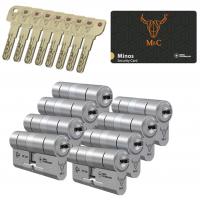 M&C Minos cilinder met kerntrekbeveiliging (8x) SKG***