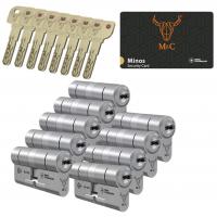 M&C Minos cilinder met kerntrekbeveiliging (9x) SKG***
