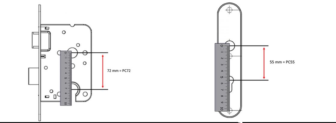 Kerntrekbeslag PC-maat